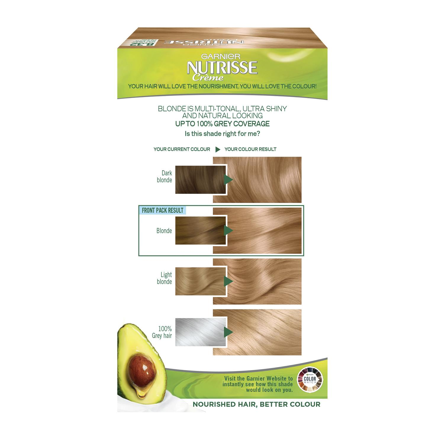 thumbnail 269 - 3 Pack Garnier Nutrisse Permanent Hair Dye With Different Shades