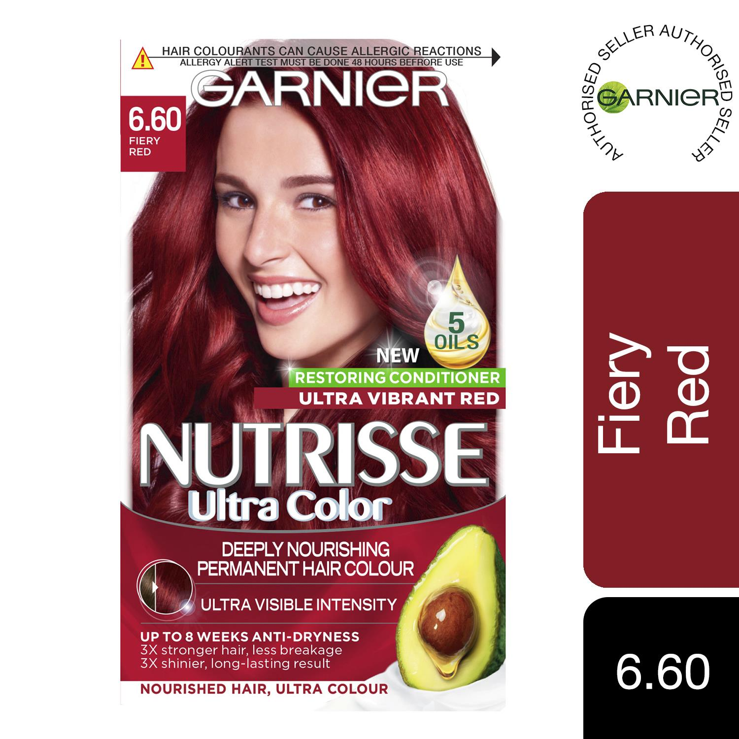 thumbnail 205 - 3 Pack Garnier Nutrisse Permanent Hair Dye With Different Shades