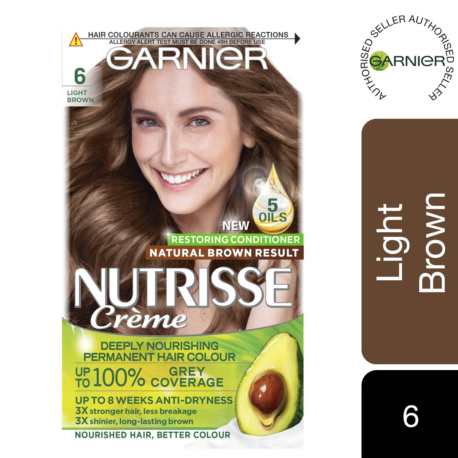 thumbnail 167 - 3 Pack Garnier Nutrisse Permanent Hair Dye With Different Shades