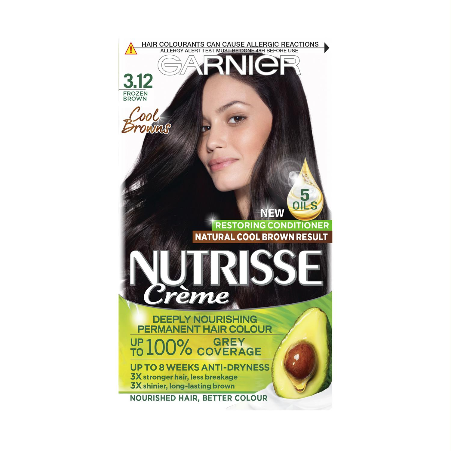 thumbnail 48 - 3 Pack Garnier Nutrisse Permanent Hair Dye With Different Shades