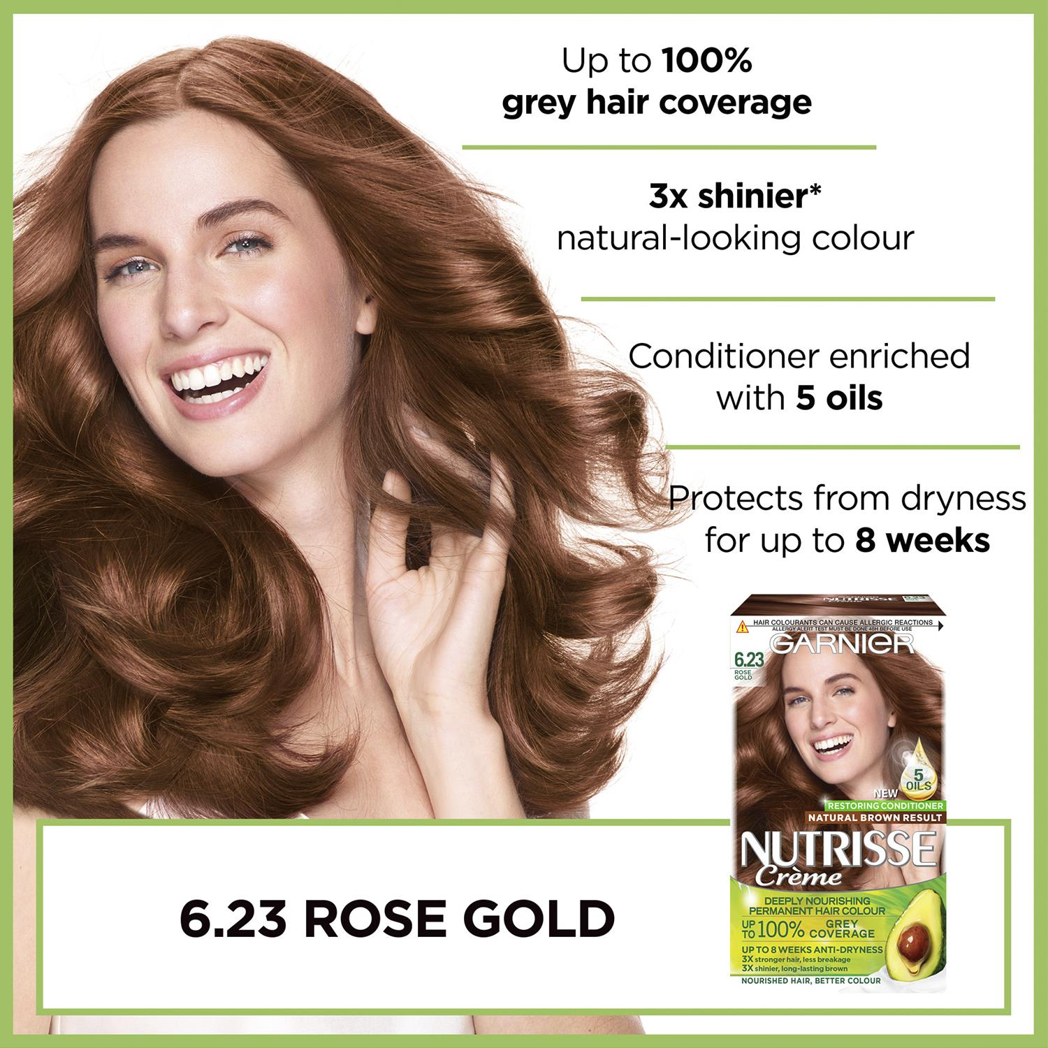 thumbnail 189 - 3 Pack Garnier Nutrisse Permanent Hair Dye With Different Shades