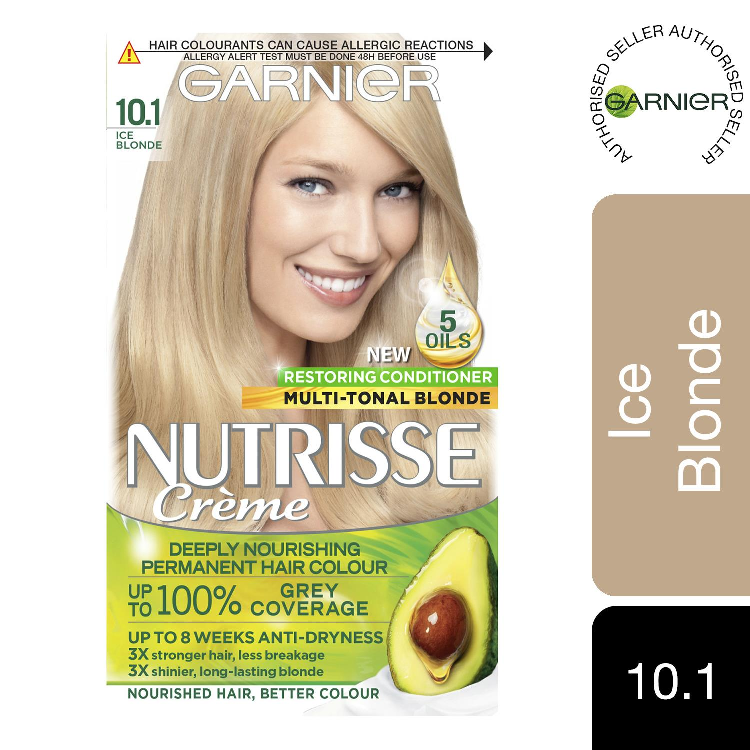thumbnail 298 - 3 Pack Garnier Nutrisse Permanent Hair Dye With Different Shades