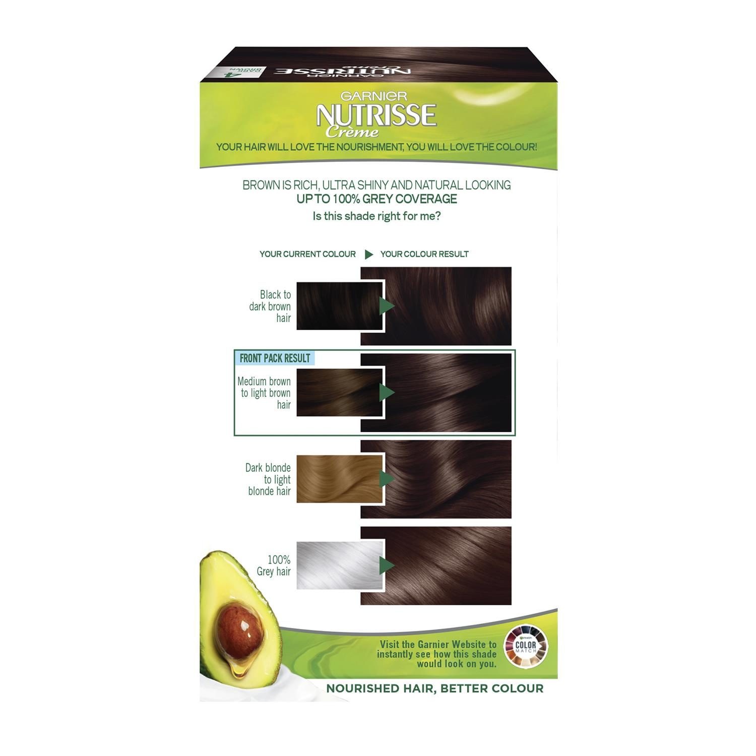 thumbnail 73 - 3 Pack Garnier Nutrisse Permanent Hair Dye With Different Shades