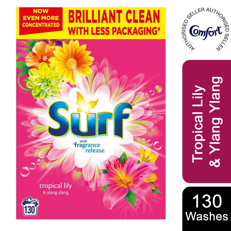 thumbnail 50 - Laundry Bundle 1x130W Surf Laundry Powder & 1x58W Comfort Fabric Conditioner