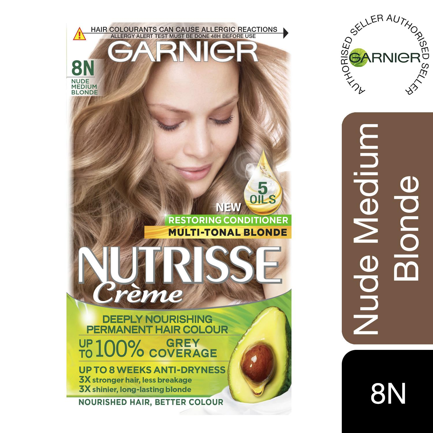 thumbnail 274 - 3 Pack Garnier Nutrisse Permanent Hair Dye With Different Shades