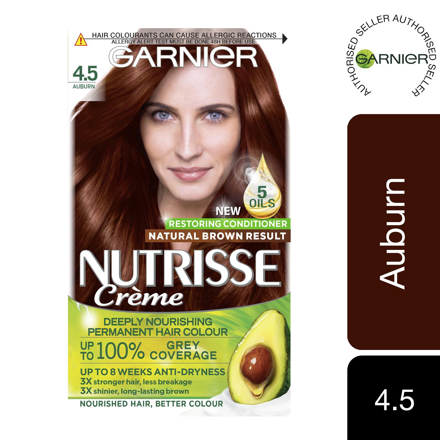 thumbnail 87 - 3 Pack Garnier Nutrisse Permanent Hair Dye With Different Shades