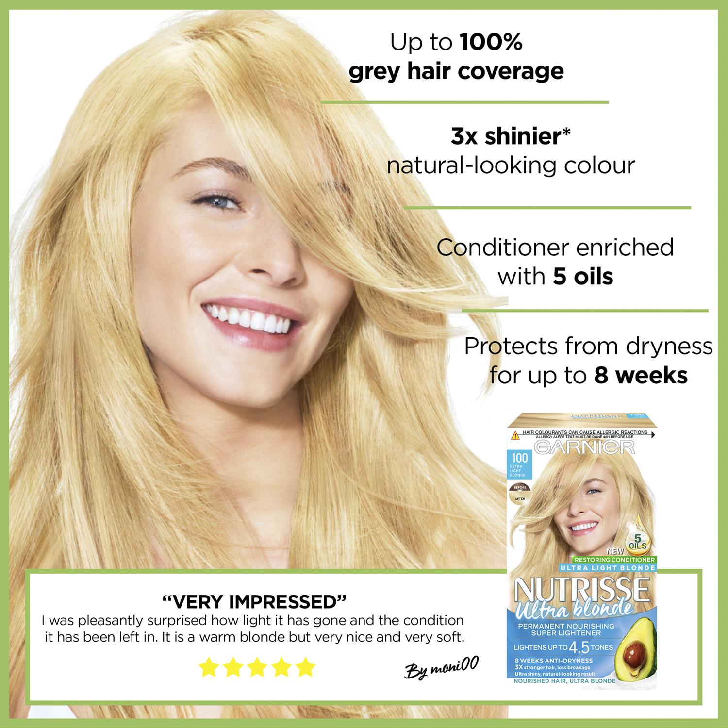 thumbnail 312 - 3 Pack Garnier Nutrisse Permanent Hair Dye With Different Shades