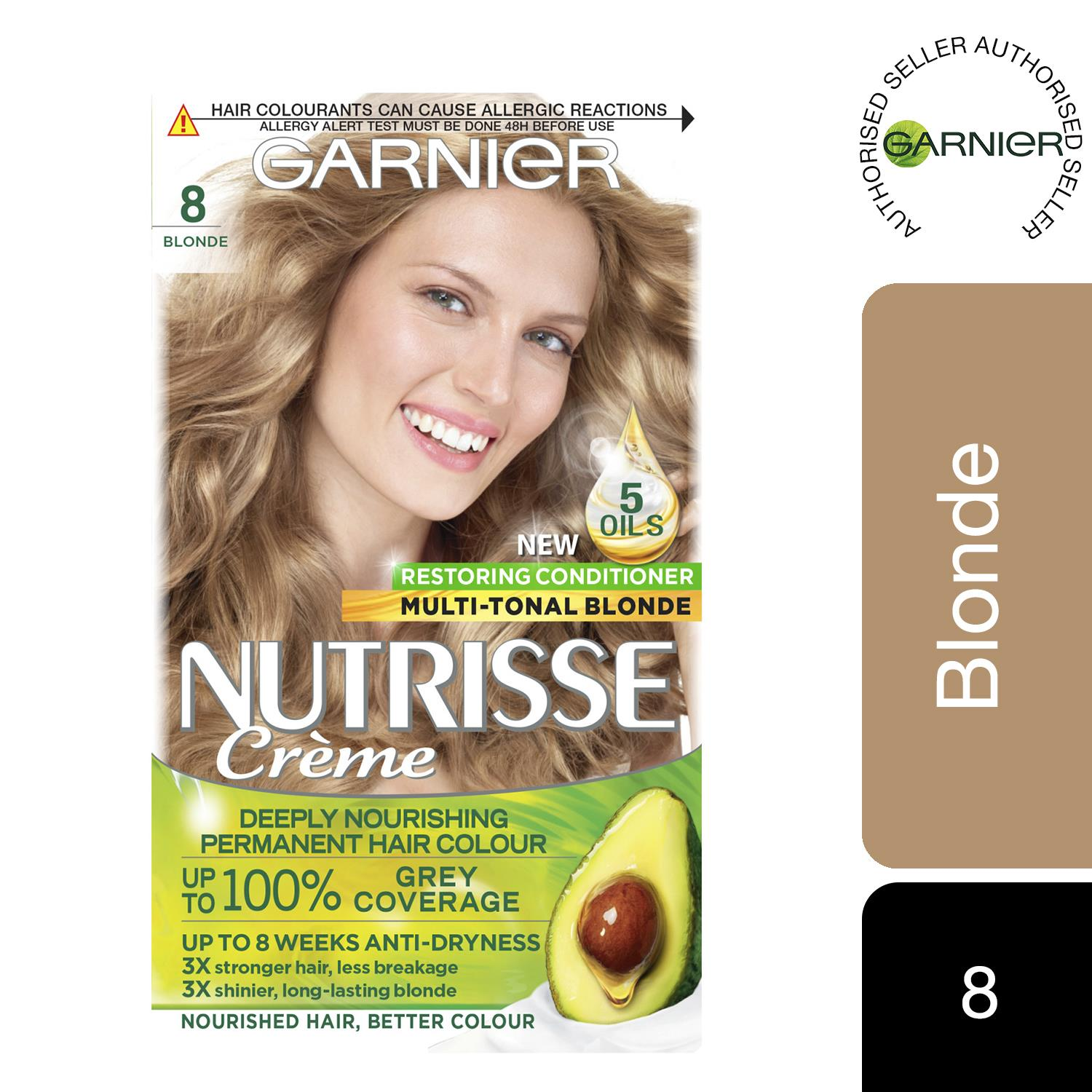 thumbnail 252 - 3 Pack Garnier Nutrisse Permanent Hair Dye With Different Shades