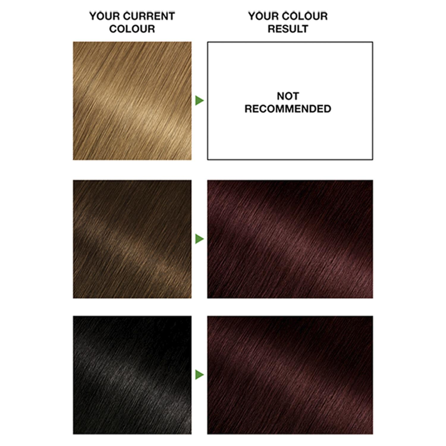 thumbnail 43 - 3 Pack Garnier Nutrisse Permanent Hair Dye With Different Shades