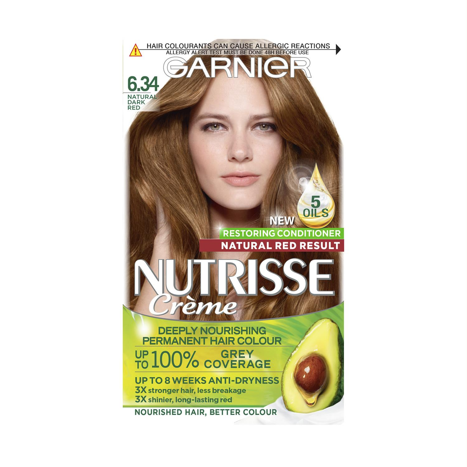 thumbnail 193 - 3 Pack Garnier Nutrisse Permanent Hair Dye With Different Shades