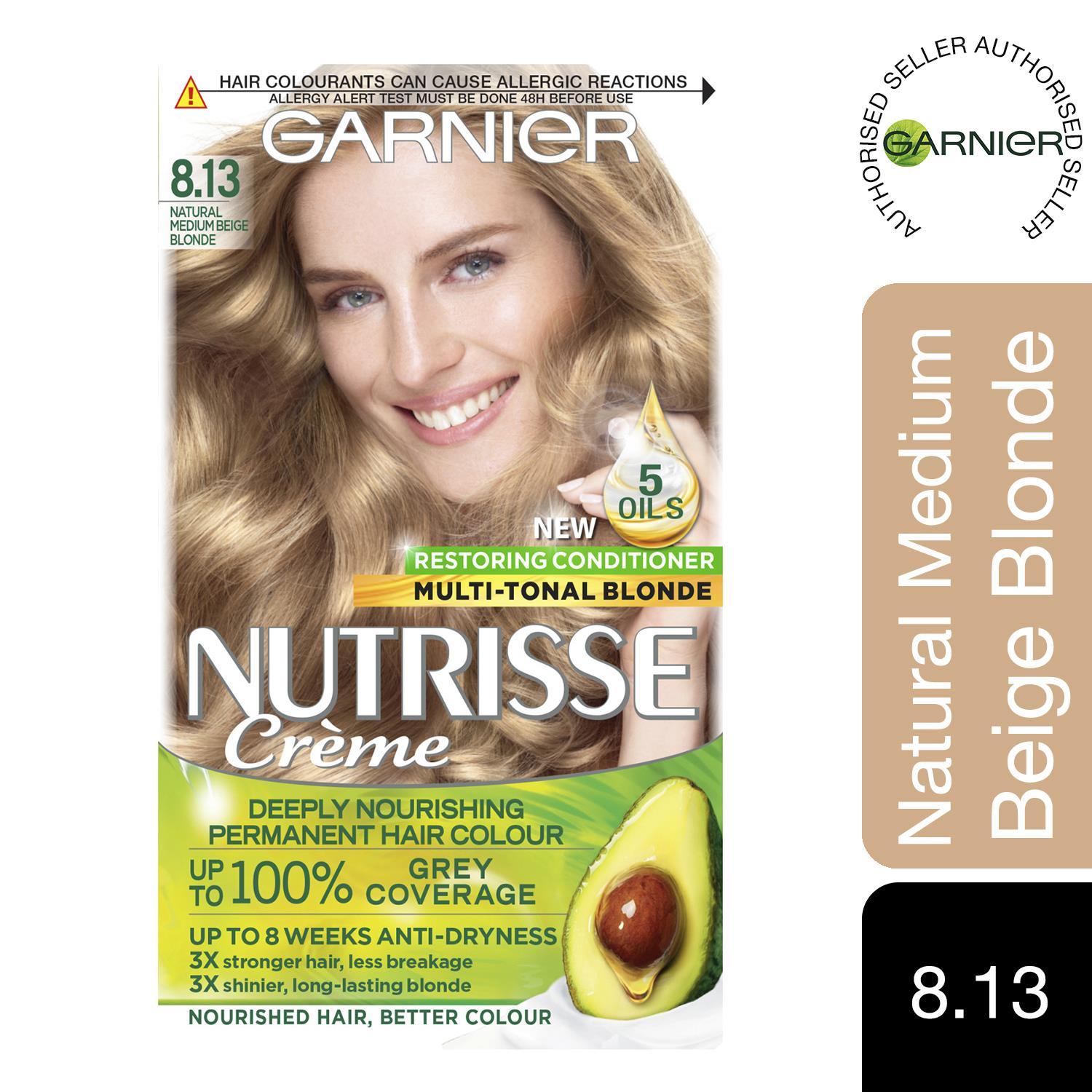 thumbnail 259 - 3 Pack Garnier Nutrisse Permanent Hair Dye With Different Shades