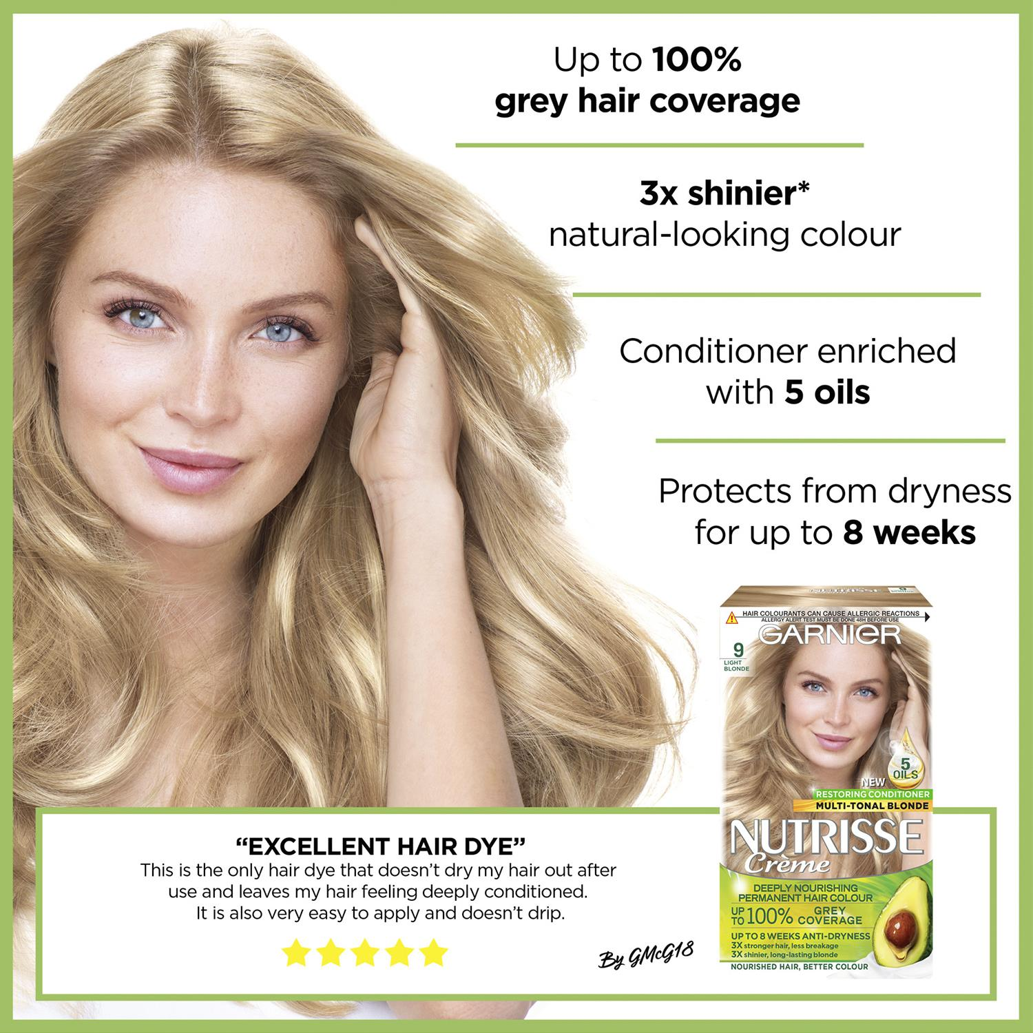 thumbnail 288 - 3 Pack Garnier Nutrisse Permanent Hair Dye With Different Shades