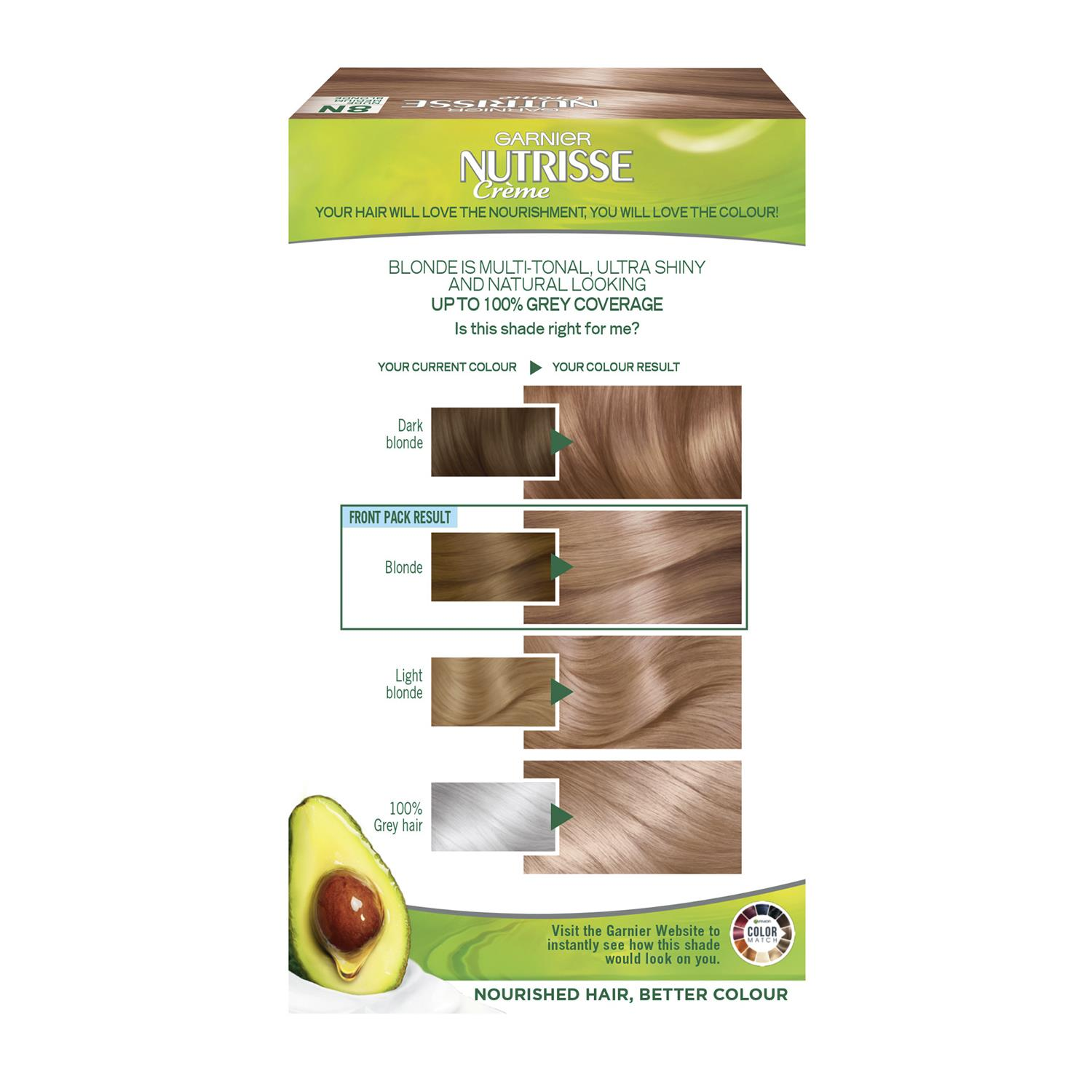 thumbnail 277 - 3 Pack Garnier Nutrisse Permanent Hair Dye With Different Shades
