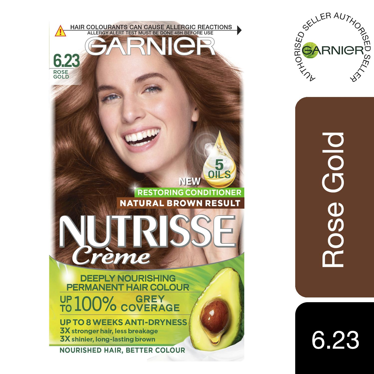 thumbnail 183 - 3 Pack Garnier Nutrisse Permanent Hair Dye With Different Shades