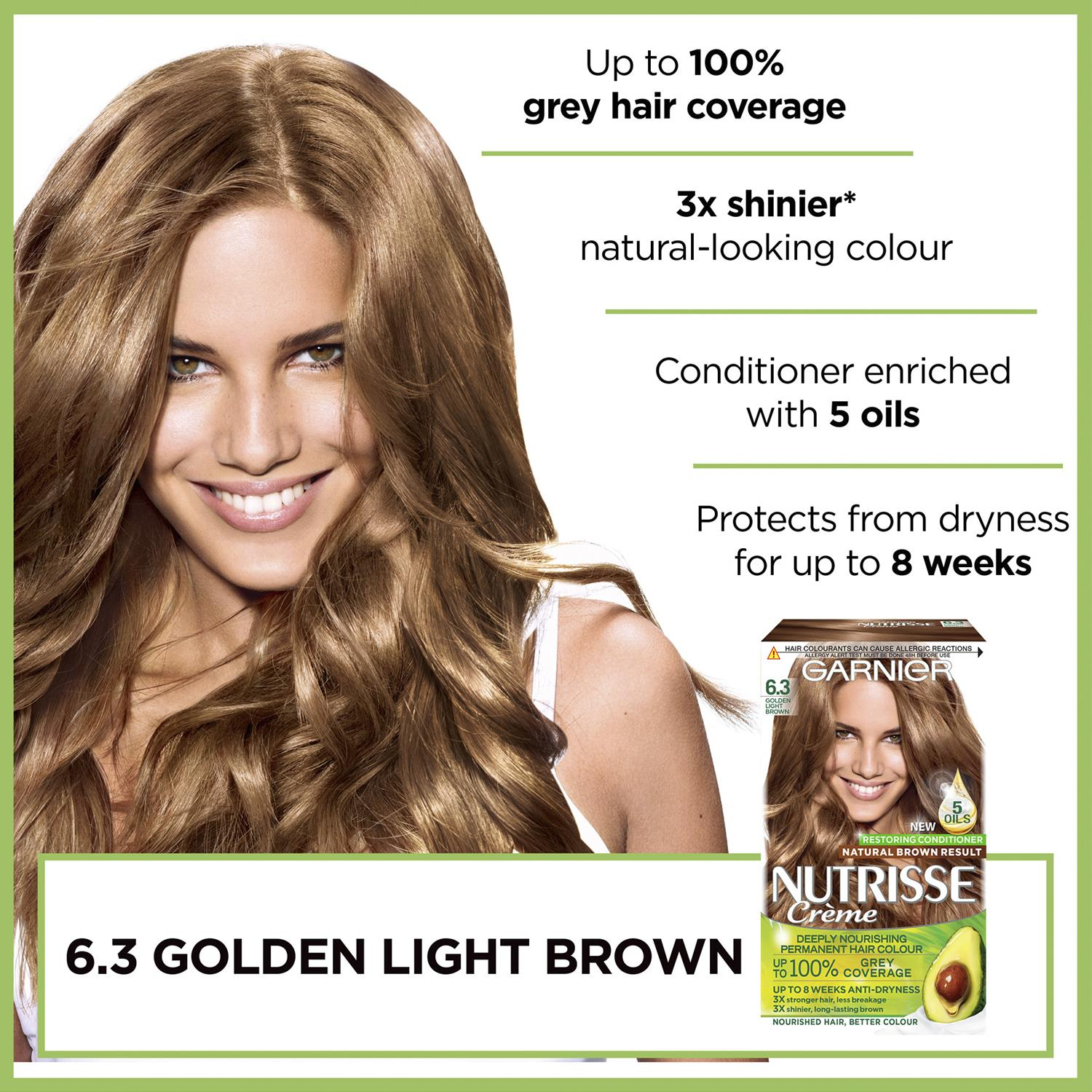thumbnail 181 - 3 Pack Garnier Nutrisse Permanent Hair Dye With Different Shades