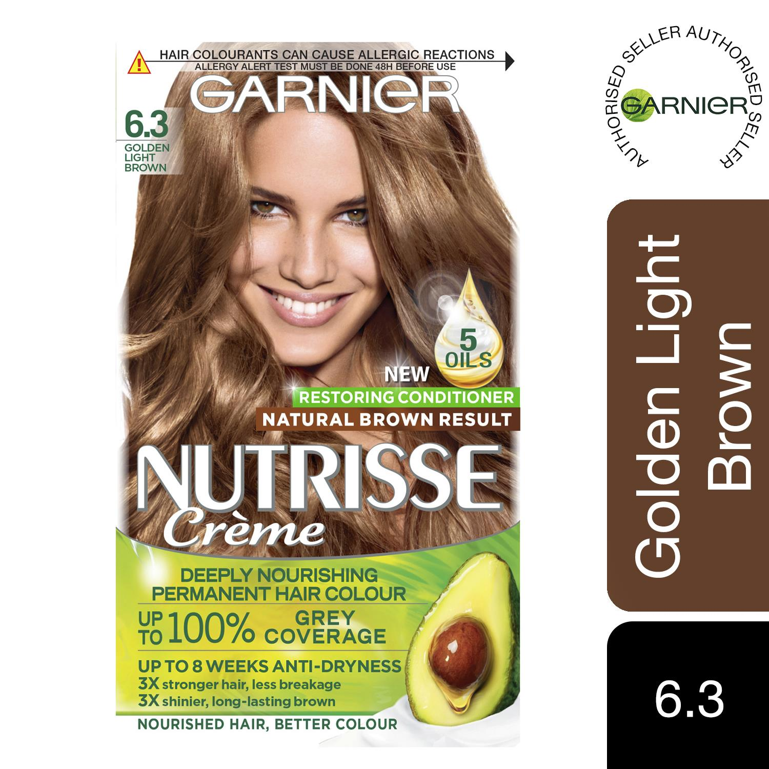 thumbnail 175 - 3 Pack Garnier Nutrisse Permanent Hair Dye With Different Shades