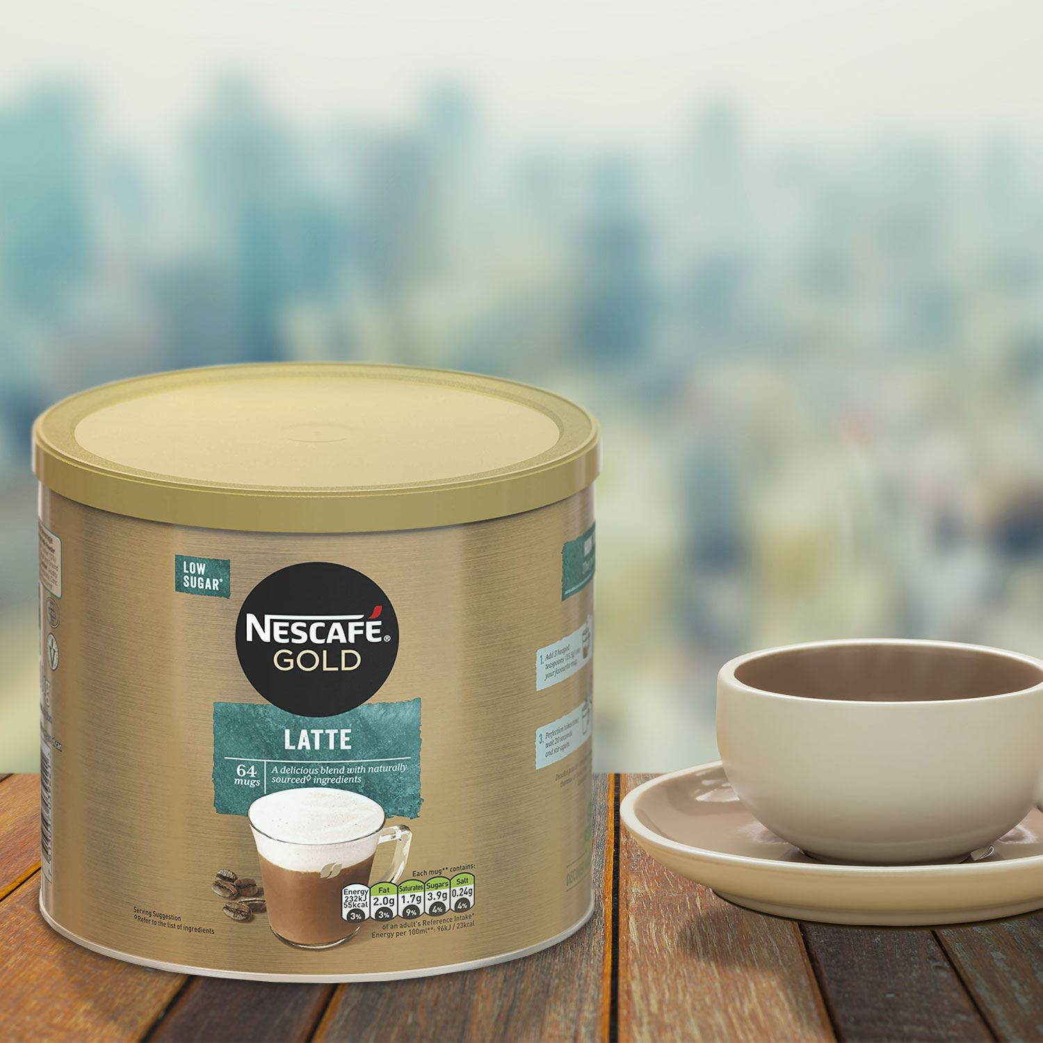 thumbnail 24 - Nescafe Gold Instant Coffee Granules 1kg Cappuccino or Latte, Low Sugar