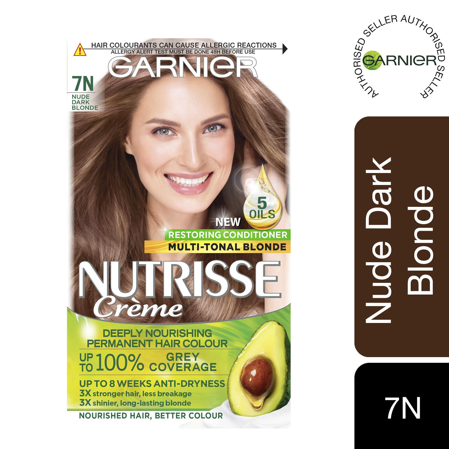 thumbnail 244 - 3 Pack Garnier Nutrisse Permanent Hair Dye With Different Shades
