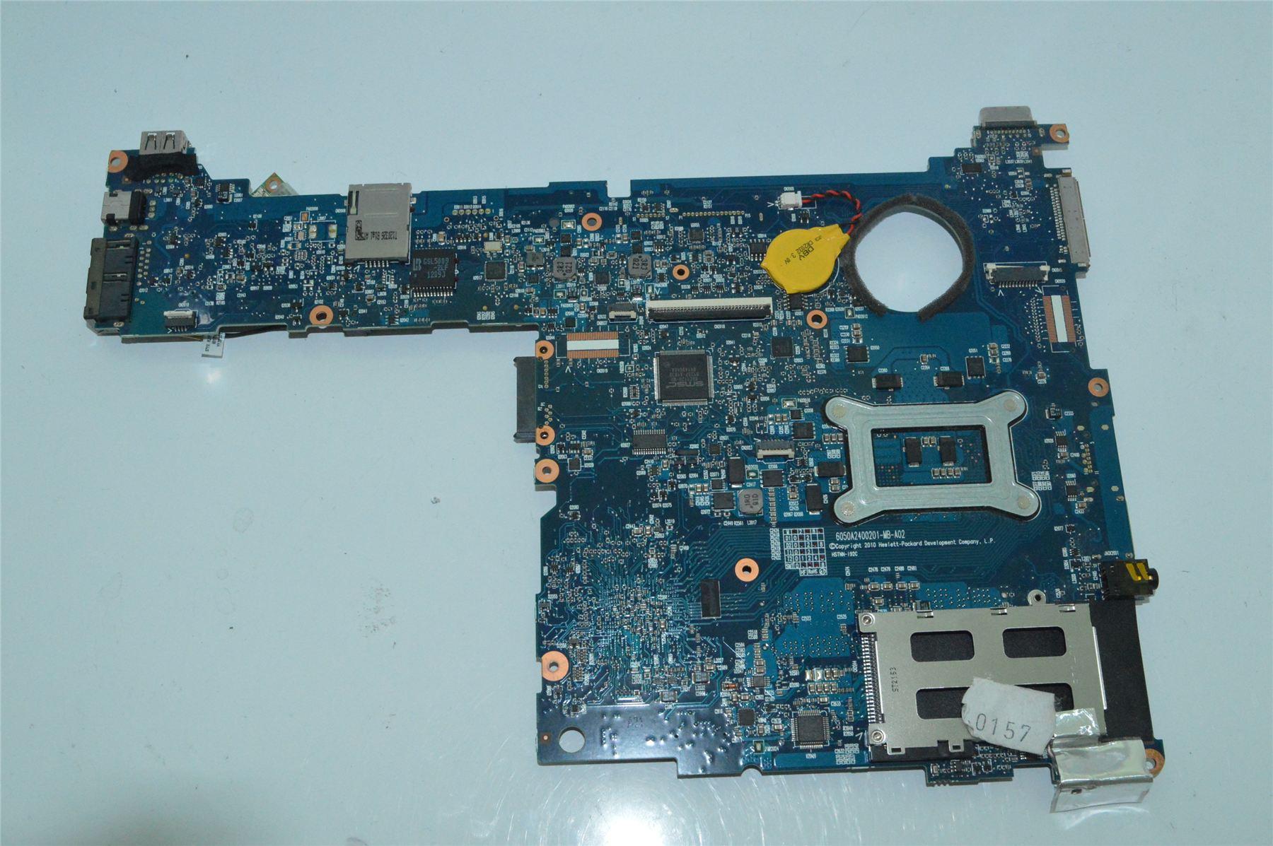 genuine hp elitebook 2560p laptop intel motherboard 651358-001