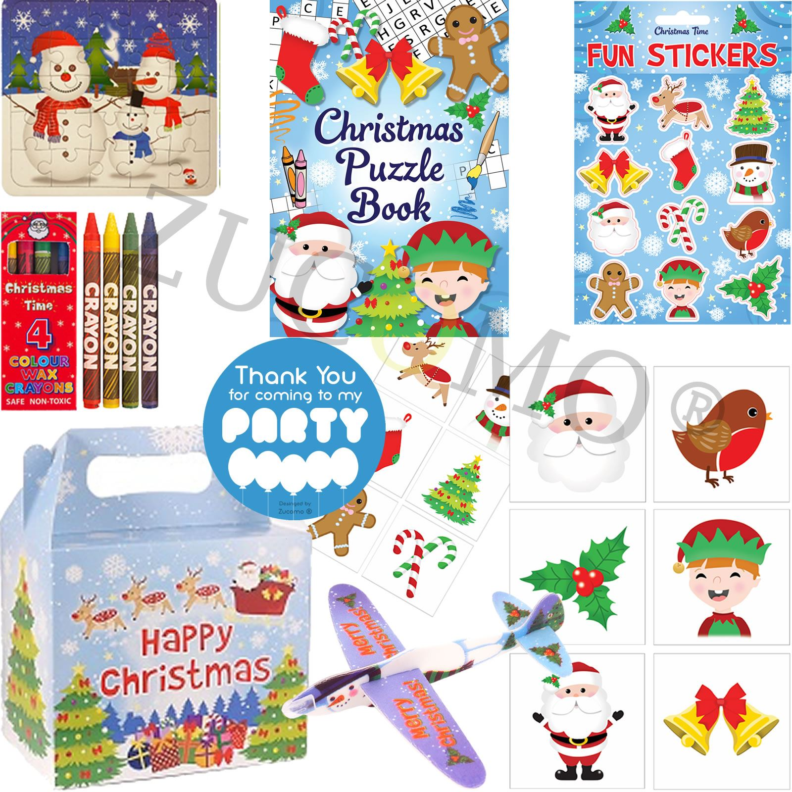 Boys Girls Gift Bags Childrens Birthday Loot Kids Party Bag Fillers