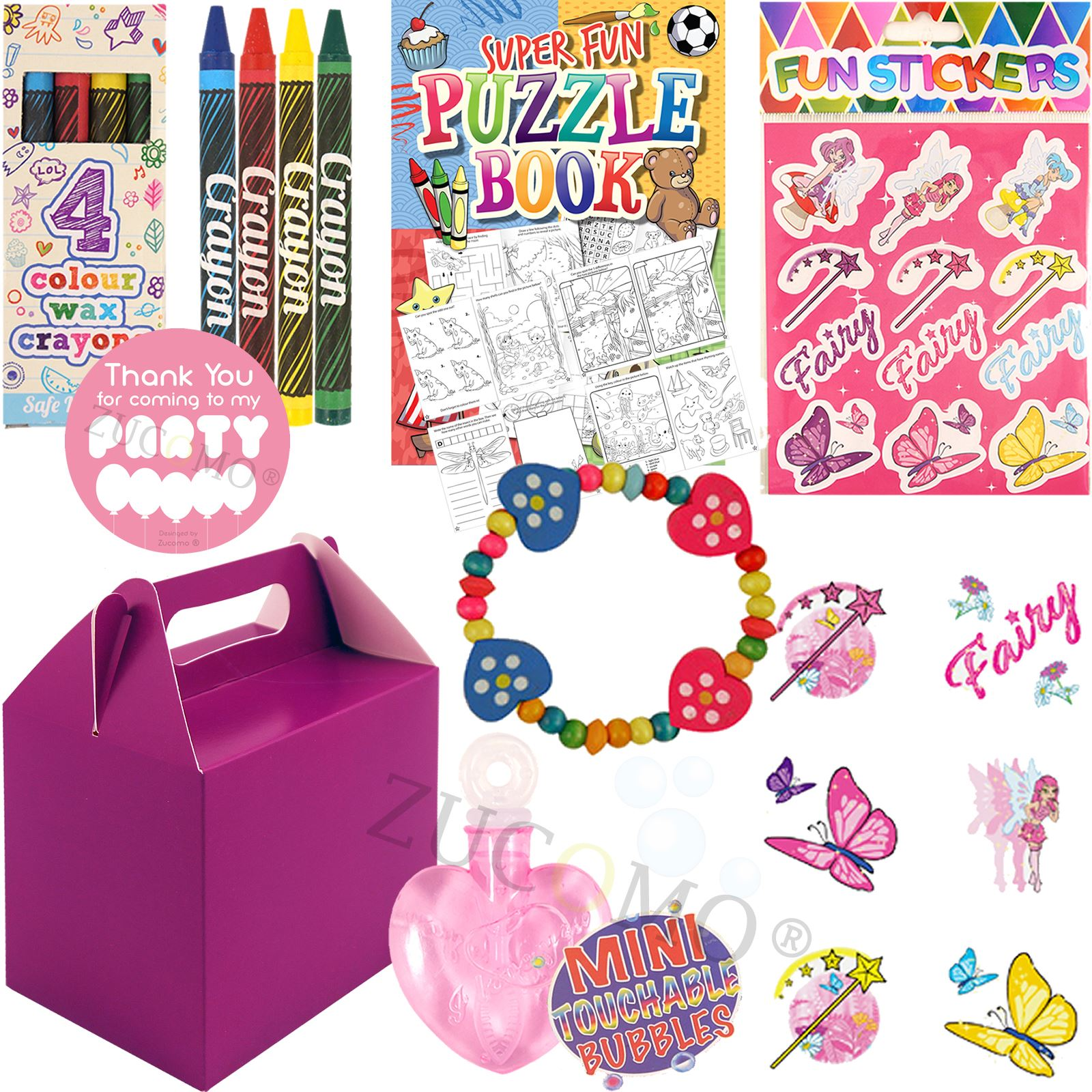 Childrens-Personalised-Wedding-Activity-Pack-Favour-Gift-Party-Bag-Kids