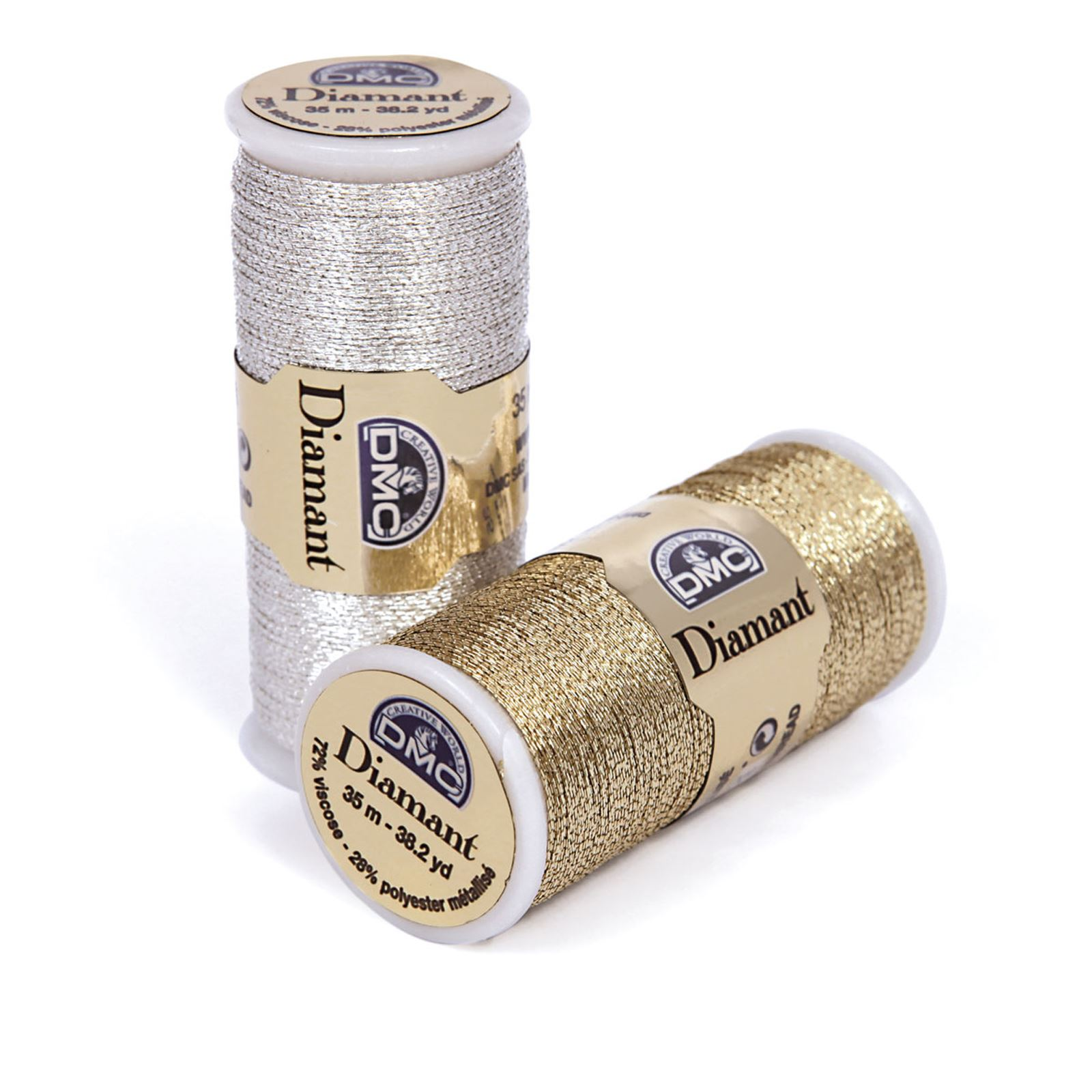 DMC-Diamant-Metallic-Embroidery-Thread-35m-Spool-Cross-Stitch thumbnail 23