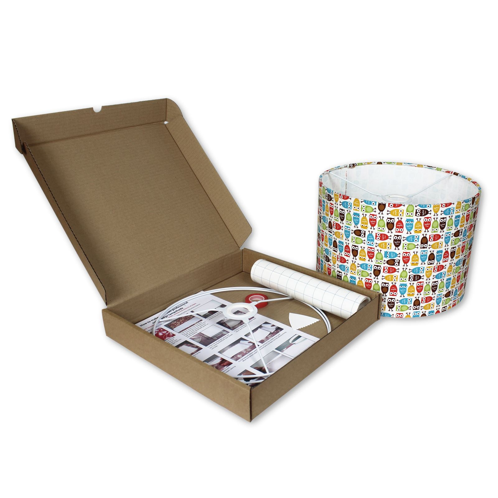 Lampshade Kits - Make Your Own Lampshades - 20cm,30cm,40cm ...