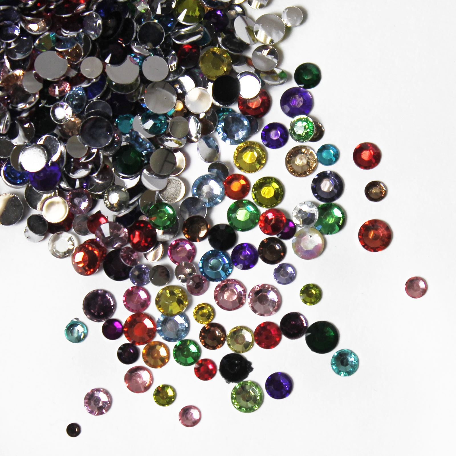 1000-High-Quality-Resin-Crystal-Flat-Back-Rhinestone-Gems-Nail-Art-Craft-Face
