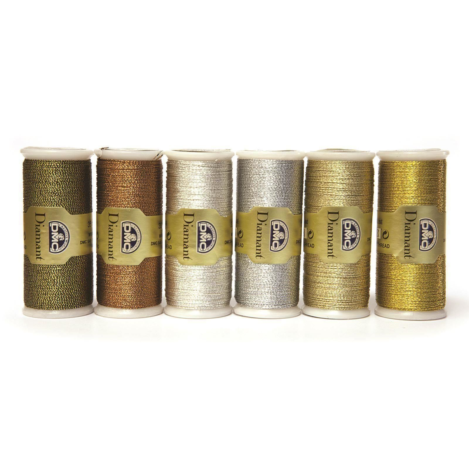 DMC-Diamant-Metallic-Embroidery-Thread-35m-Spool-Cross-Stitch thumbnail 11