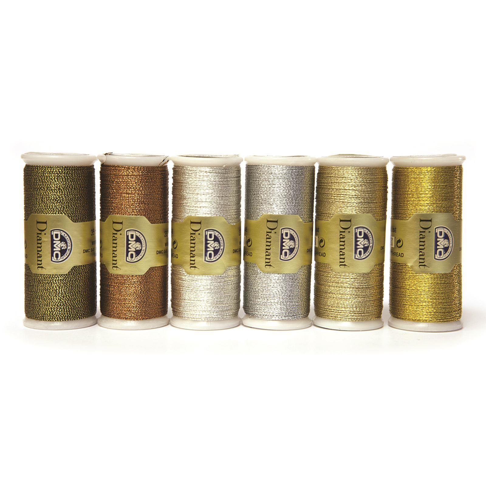 DMC-Diamant-Metallic-Embroidery-Thread-35m-Spool-Cross-Stitch thumbnail 56