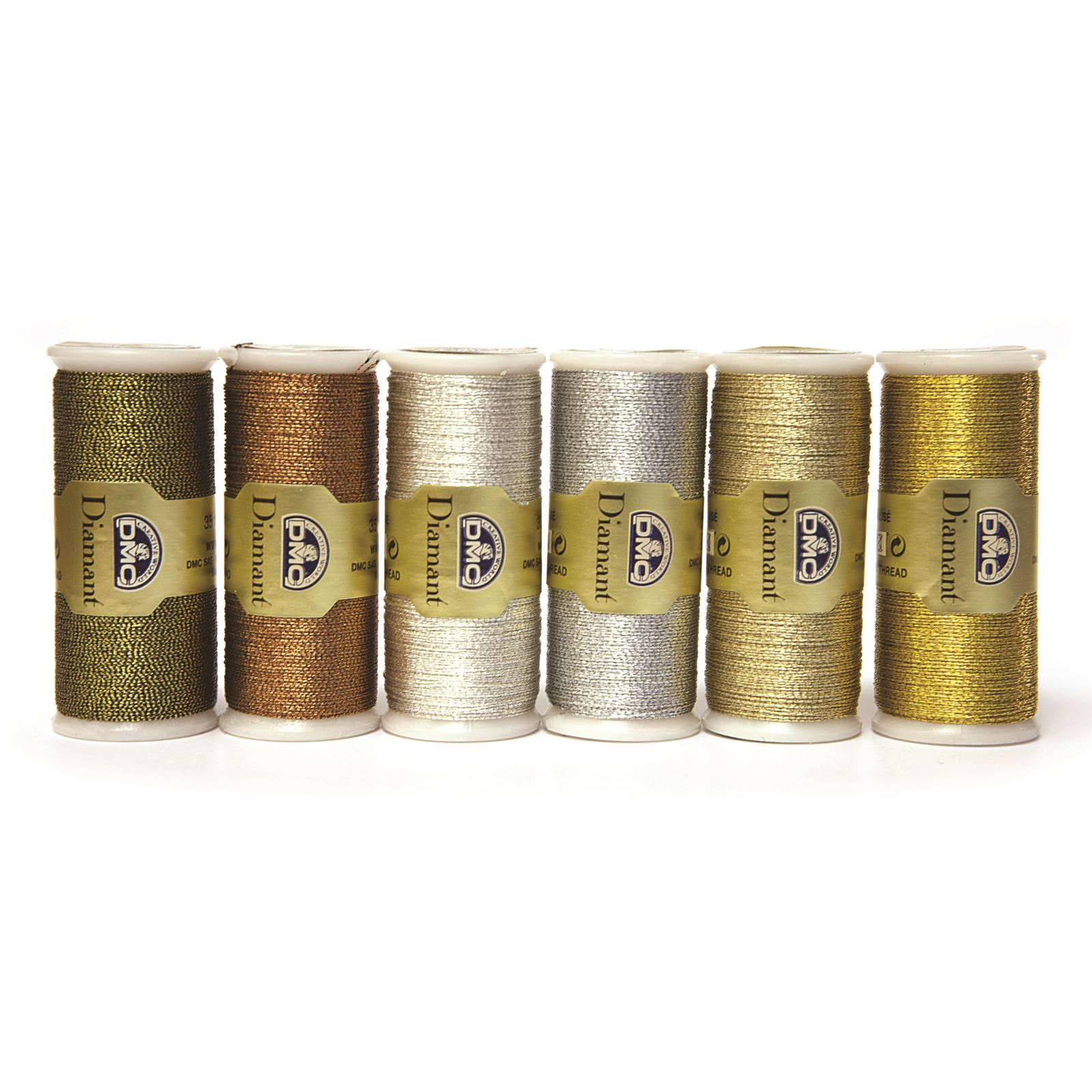 DMC-Diamant-Metallic-Embroidery-Thread-35m-Spool-Cross-Stitch thumbnail 28