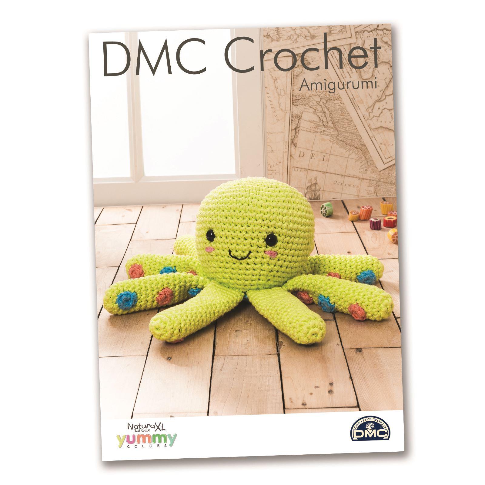 Home Decor Patterns: DMC Natura XL Yummy Crochet Patterns Amigurumi Home Decor