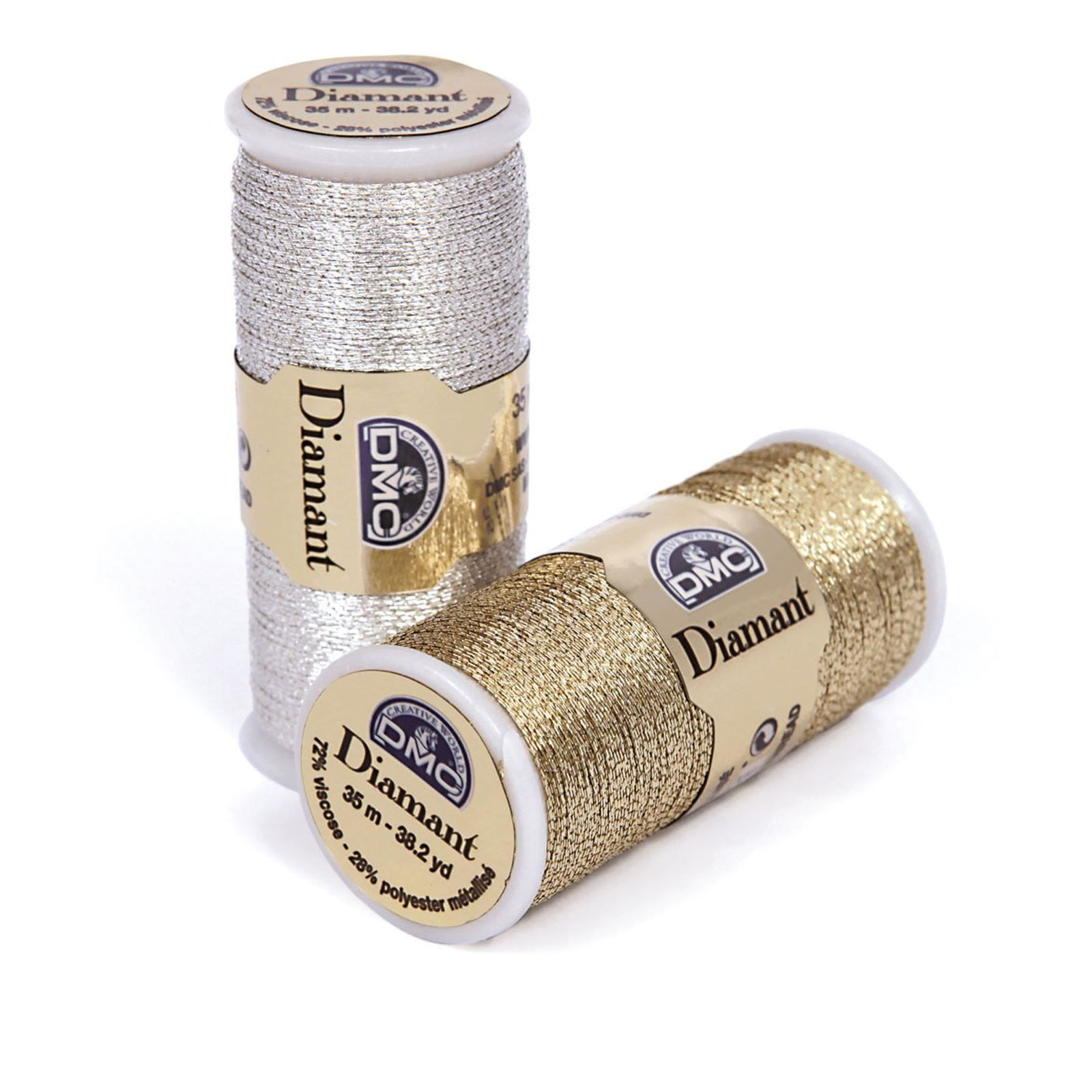 DMC-Diamant-Metallic-Embroidery-Thread-35m-Spool-Cross-Stitch thumbnail 16