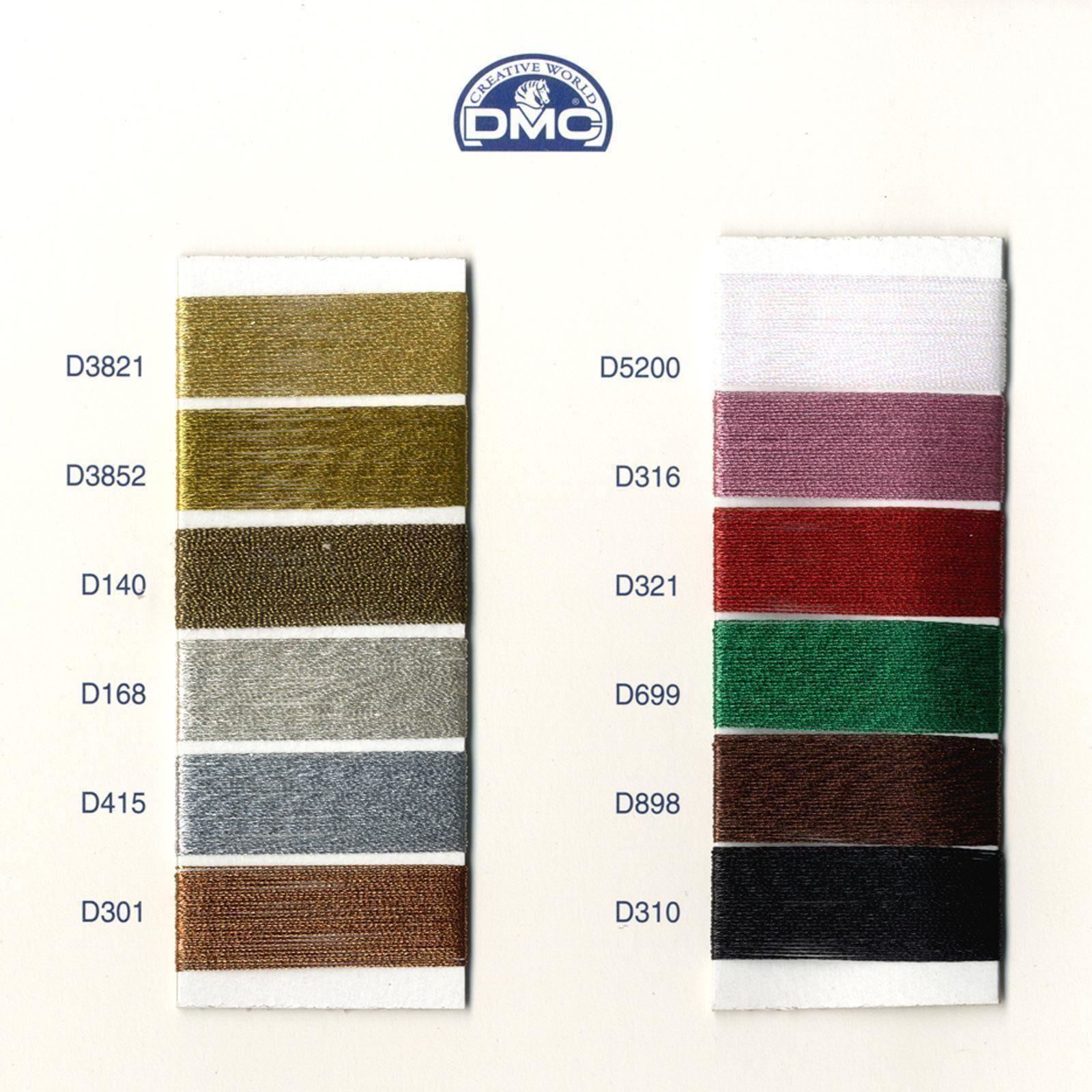 DMC-Diamant-Metallic-Embroidery-Thread-35m-Spool-Cross-Stitch thumbnail 9