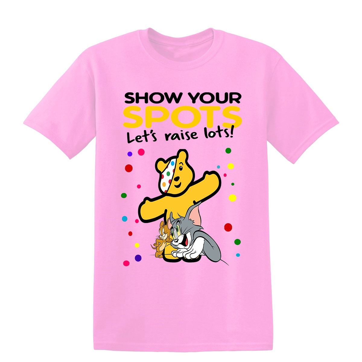Tom-and-Jerry-Charity-Day-Pudsey-Bear-Fundraising-Kids-T-Shirt