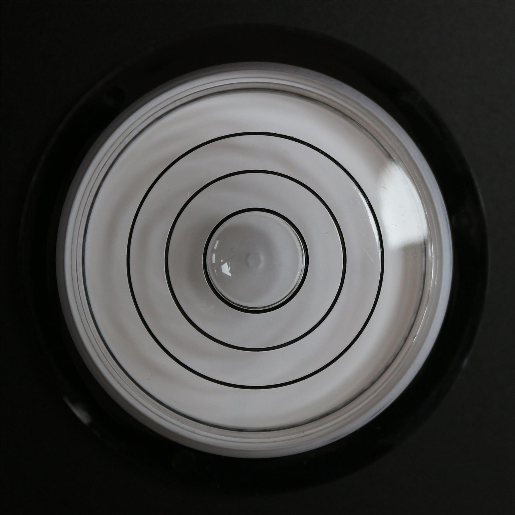 Niveau /à Bulle d/'Air Rond Bulls Eye Large Outil Horloge Passion Caravane