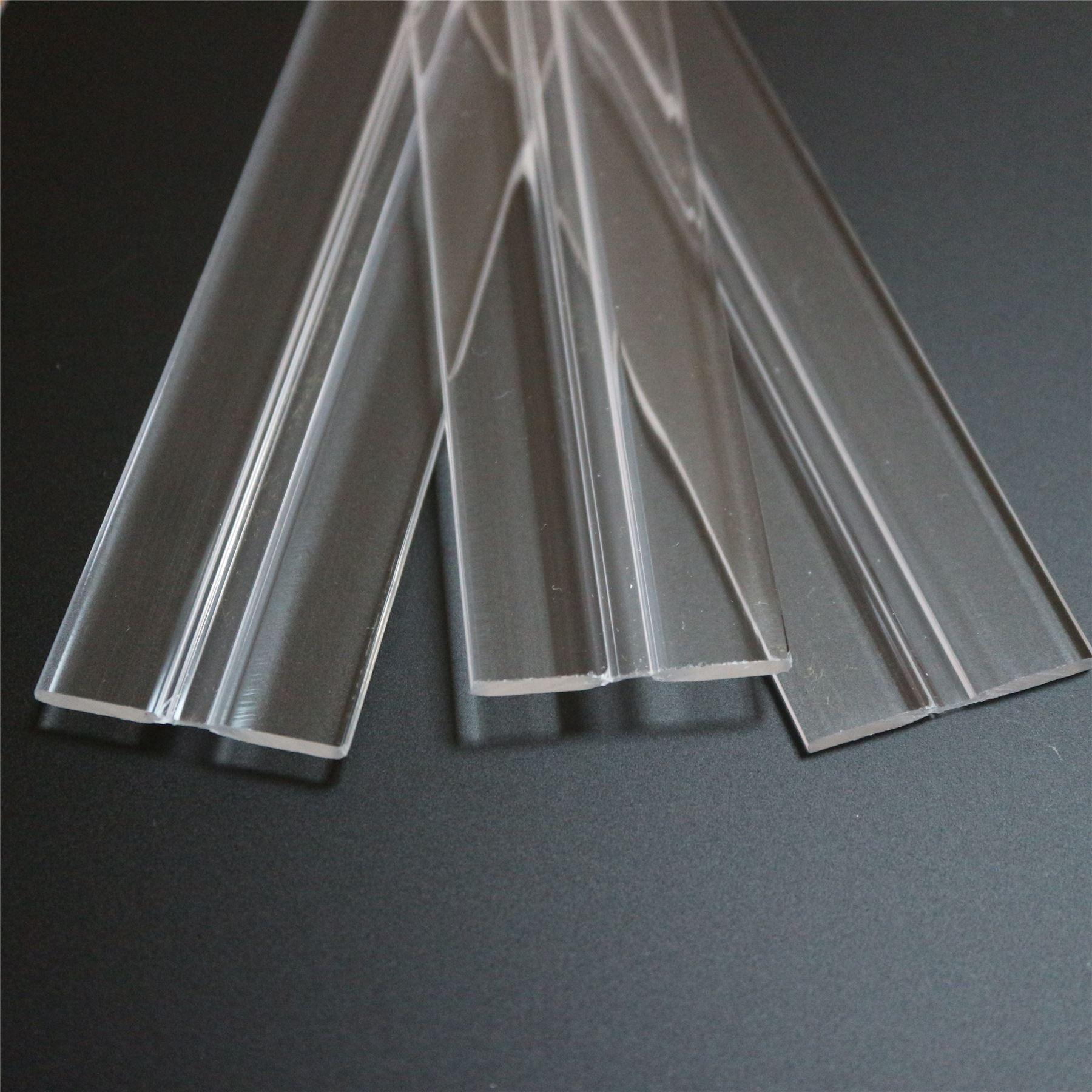 3 x 300mm low profile flex hinges, flexible living hinges,plexiglass ...