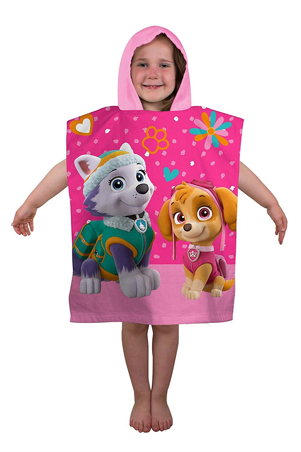 Kids-Boys-Novelty-Girls-Character-Hooded-Towel-Poncho-Beach-Bath-Swim thumbnail 28