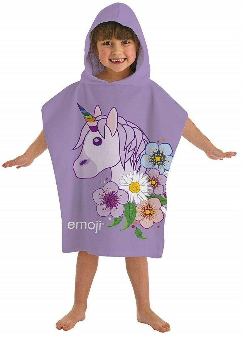 Kids-Boys-Novelty-Girls-Character-Hooded-Towel-Poncho-Beach-Bath-Swim thumbnail 37