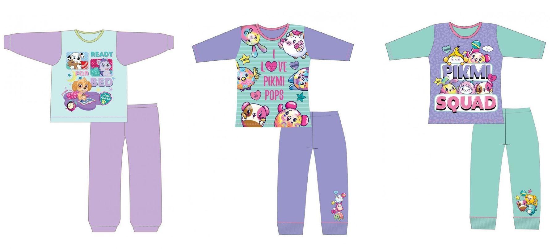 5d7304539 Details about Girls Nightwear Character Pyjama Set Kids Pj Gift