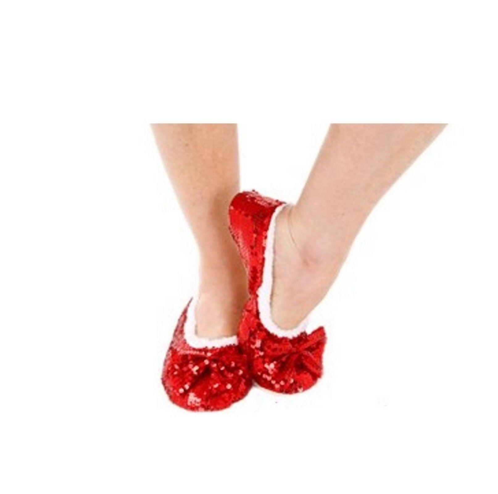 Snoozies Ladies Slippers Bailarina Bombas Antideslizante 3 4 5 6 7 8