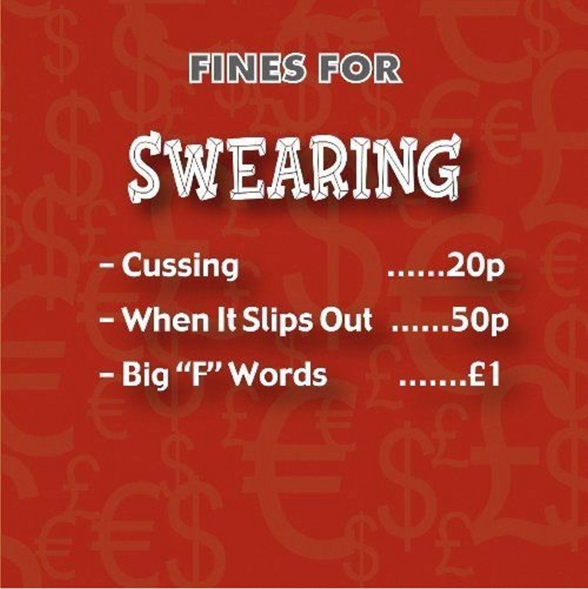 Novelty-Gifts-Fine-Tin-Swear-Box-Money-Saving-Piggy-Bank-Lock-amp-Key-Reusable thumbnail 15