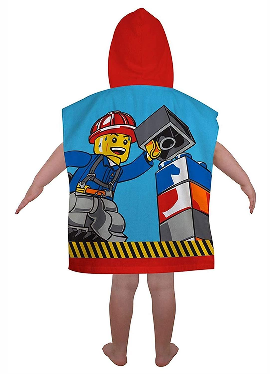 Kids-Boys-Novelty-Girls-Character-Hooded-Towel-Poncho-Beach-Bath-Swim thumbnail 8