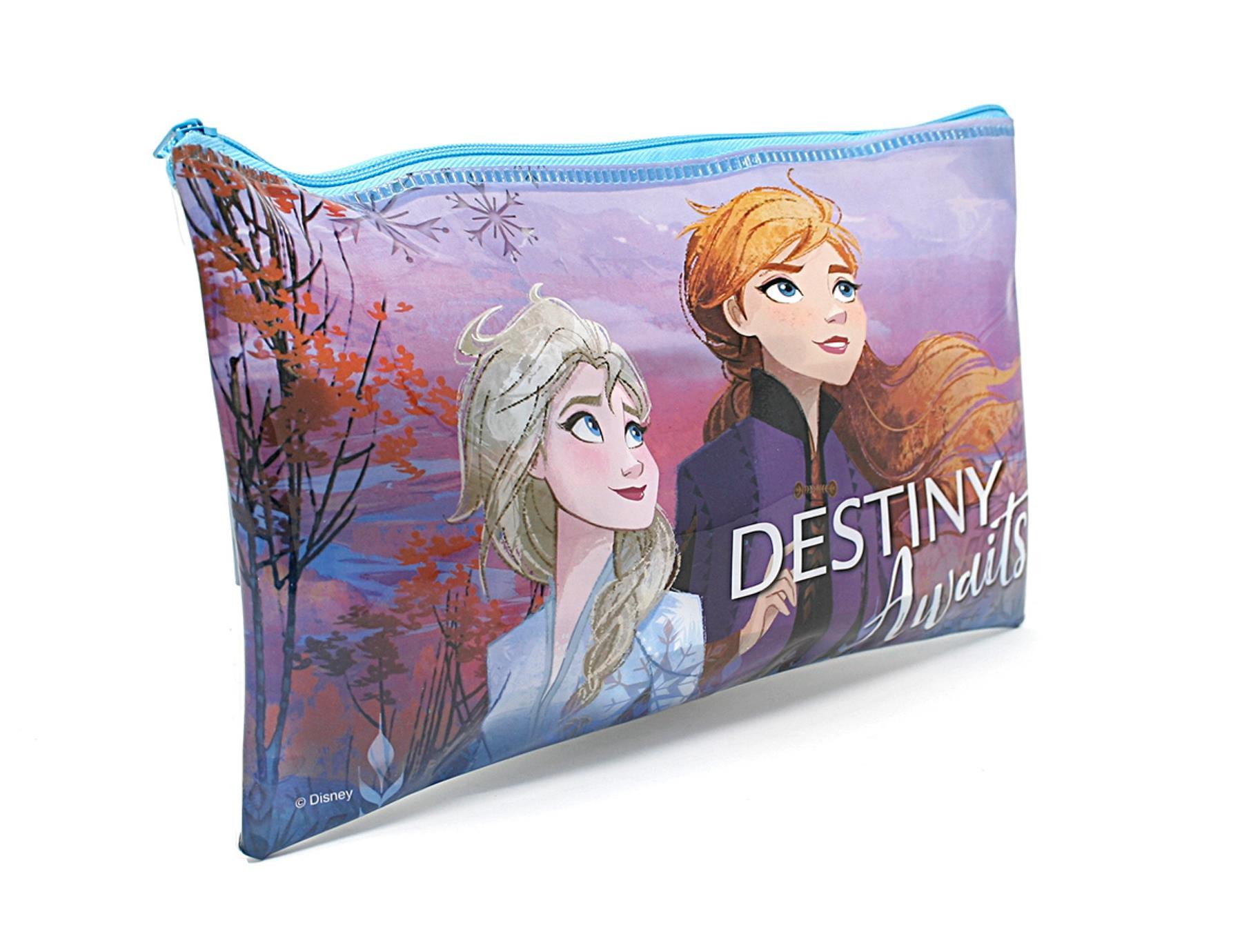thumbnail 9 - Disney Frozen 2 Elsa Stationary Gift Set Case Chest Pencil Case Stocking Filler
