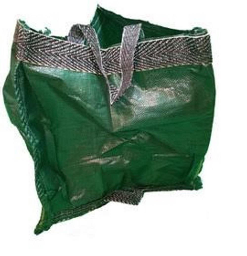 LARGE HEAVY DUTY POP UP GARDEN BIN BAG WASTE RUBBISH LEAVES BAG SACK HANDLES UK
