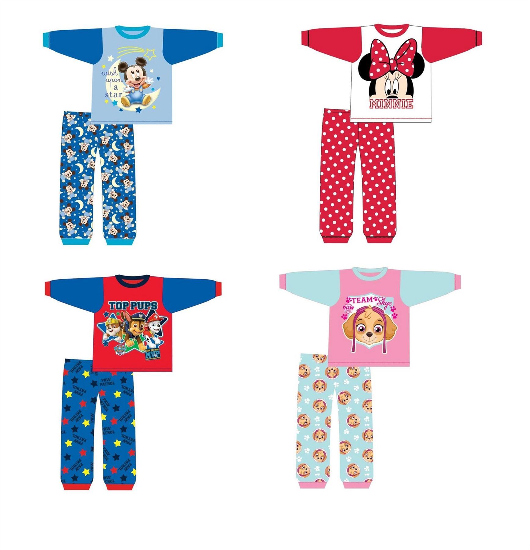 5c5d5952ac Jungen Mädchen Charakter Schlafanzug Schlafanzug Nachtwäsche ...