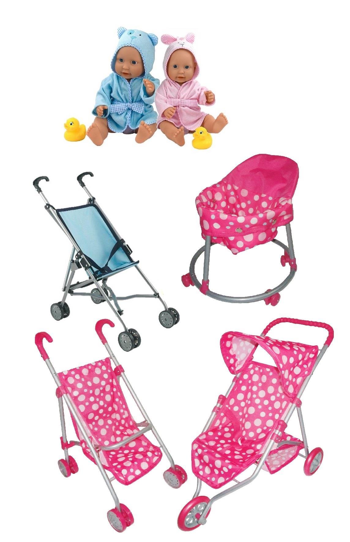 Baby Doll Stroller Girl Boy Pram Pushchair Role Play   eBay