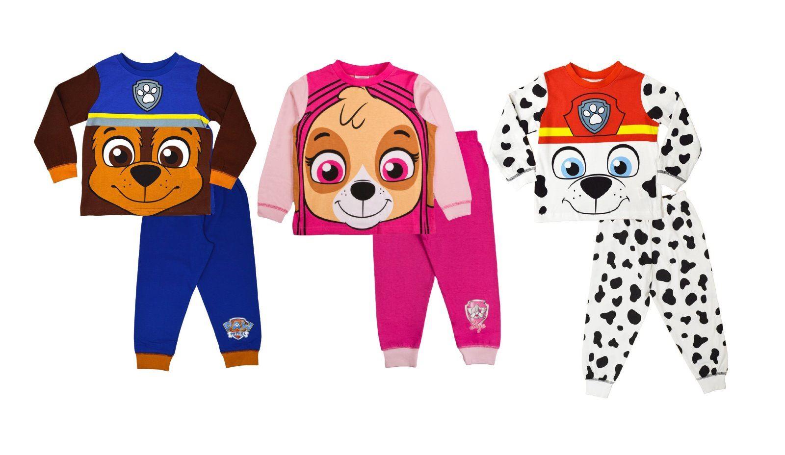 335d2b7bd3 Paw Patrol Jungen Mädchen Schlafanzug Kleinkinder Charakter Kinder ...