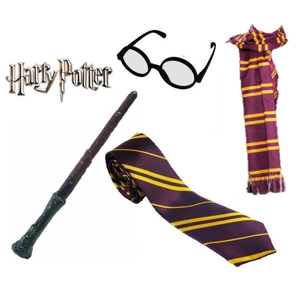 Disfraz de harry potter gafas varita corbata bufanda for Elder wand for sale