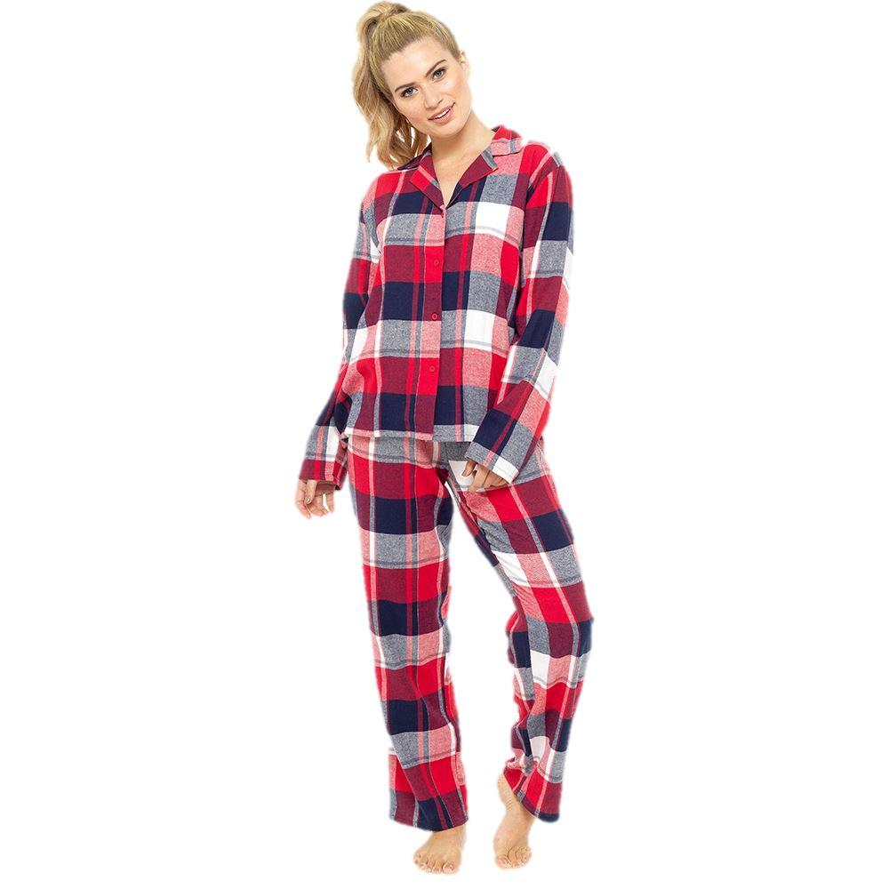 Pigiama in seta da donna autunno 2 Completo pigiameria manica lunga da nL8Q4 1X